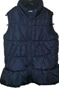 4/$25 Oshkosh Girls Blue Puffer Vest